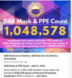 Over 1 million Masks and PPE