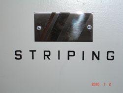 Custom striping sample