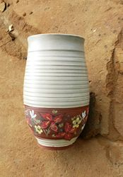 Underglaze Design Vase