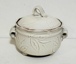 Slip Design Jar ~ Perfect for Butter!