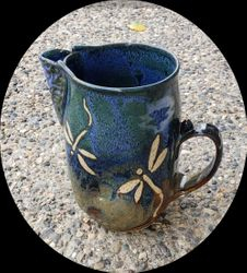 Dragonfly Pitcher