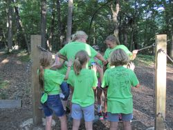 Low Ropes Course I