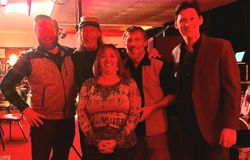 With Randy Davis @ Gene's Country Club 2020