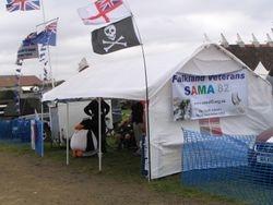 The SAMA82 Southeast stand