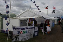 SAMA 82 southeast stand at the show