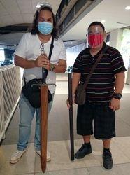 J Dash V Jags Long Sword and Cane Sword