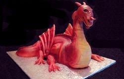 3D Dragon Cake