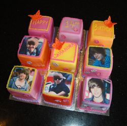 Justin Bieber Theme Bday Blocks