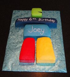 Inukshuk Olympic Theme Bday Cake