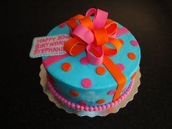 Present Cake for Stephanie