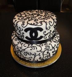 50th Birthday Celebration Chanel Cake