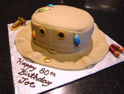 3D Tilly Hat - 80th Birthday