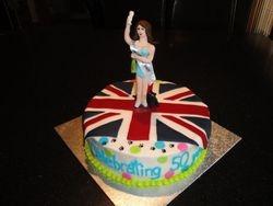 50th Birthday - Beautiful Baby cake