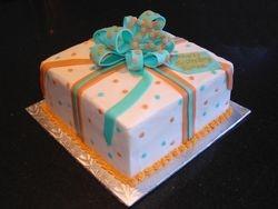 25th Birthday Celebration - Present Cake