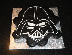 Darth Vader Cupcakes Cake