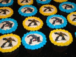 Transformers Cupcakes