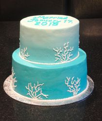 Destination Wedding Marriage Celebration Cake