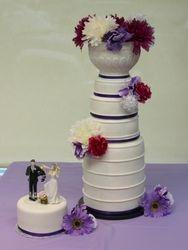 Stanley Cup Hockey Themed Wedding Cake