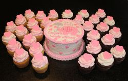 Pink Elephant Theme Baby Shower