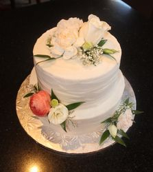 Wedding Cake for Chrisy & Liam
