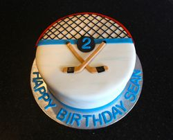 Hockey Theme 2nd Birthday for Sean