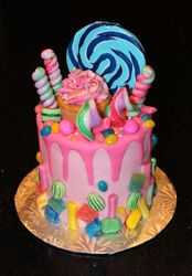 Candy Cake Birthday Cake