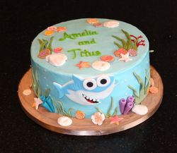 Super Simple Songs Baby Shark Cake
