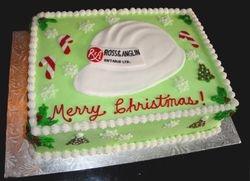 Corporate Christmas Cake