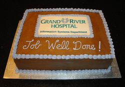 "Grand River Hospital ""Job Well Done!"" Celebration"