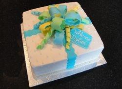Baby Shower Present Cake