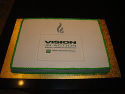 TD Bank Corporate Celebration Cake