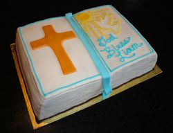 First Communion Cake for Liam