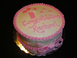 Confirmation Cake for Rachael
