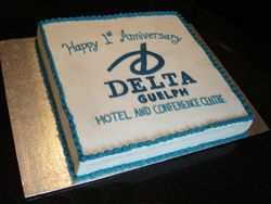 Delta Guelph 1st Anniversary Cake