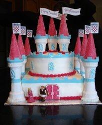 Retirement Celebration Castle Cake