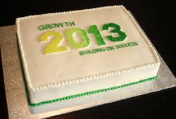 Corporate Cake - Conference
