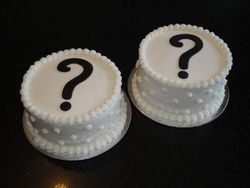 Expecting Twins Surprise Cakes