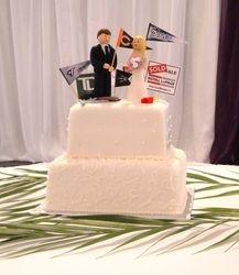 My Favourite Things Wedding Cake