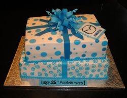 Mazda Canada 25th Anniversary Cake