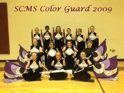 Color Guard 2008-2009