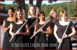 SCMS Flute Choir 2008-2009