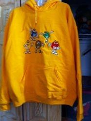 M&M Sweatshirt hoodie