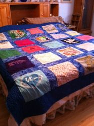 Memory t-shirts quilt