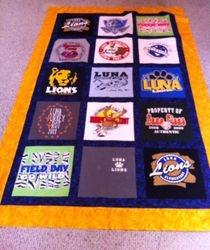 luna elementary donation quilt