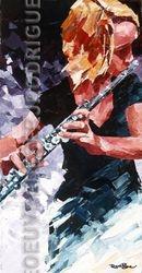 Jeune flutiste