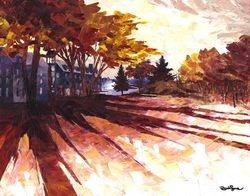 L automne dans l ile