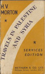 M1 Travels in Palestine and Syria