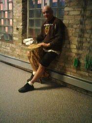 Den drums for zumba class