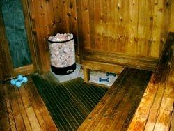 Den remodels sauna