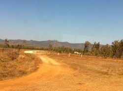 the dirt road